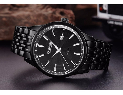 Relógio Masculino Curren Original Com Estilo Top