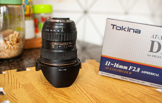 Lente Tokina 11/16 2.8 (para Nikon )