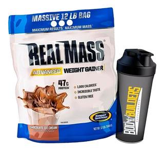 Hipercalórico Real Mass Advanced 5,4kg Gaspari Usa + Brinde