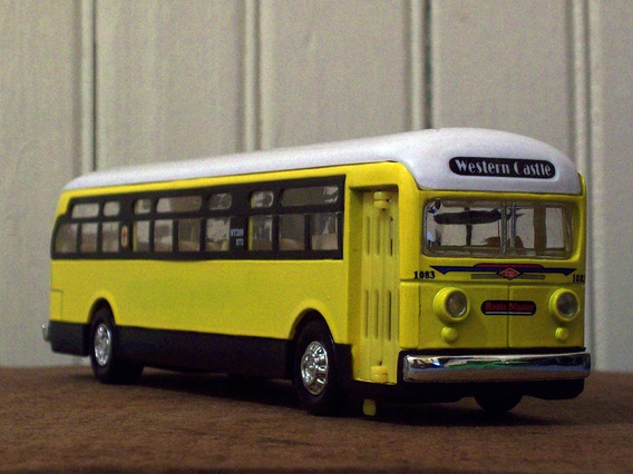 Miniatura Ônibus Greenland Commercials
