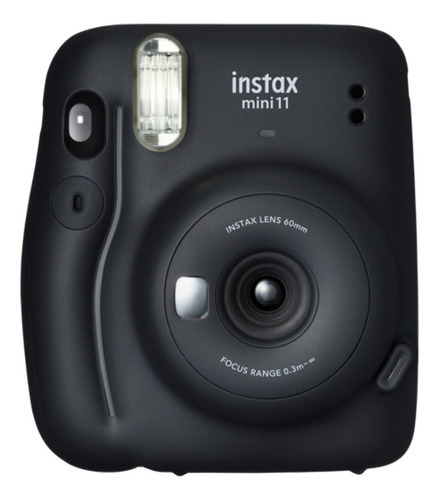 Imagen 1 de 7 de Cámara Instantánea Fujifilm Instax Mini 11 Flash Negro Nnet