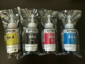 Tinta Original Epson Kit 4 Cores 70ml