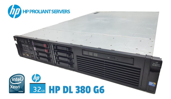 Servidor Hp Proliant (verificar Configuração No Descritivo)