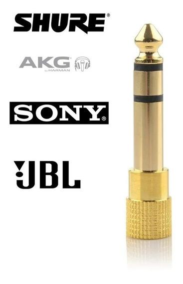 Plug Adaptador P10/p2 Stereo (pronta Entrega)