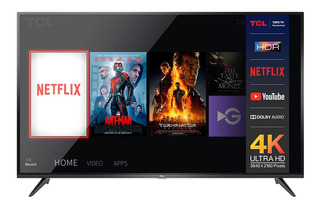 Smart Tv 50 4k Ultra Hd Tcl L50p65