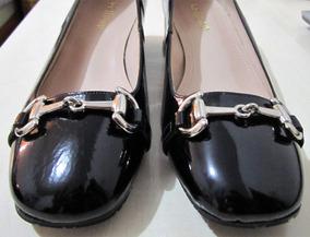 Sapato Social Scarpin Verniz Tamanho 36