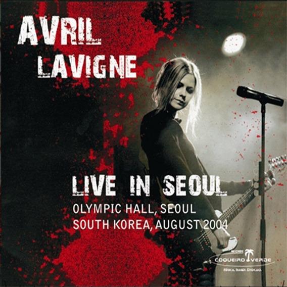 Dvd Avril Lavigne Live In Seaoul En Stock Musicanoba