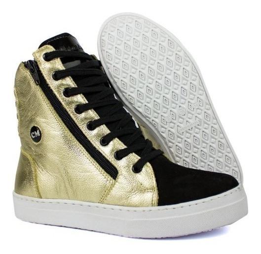 Botinha Sneaker Academia Feminino Cano Alto Street Conforto