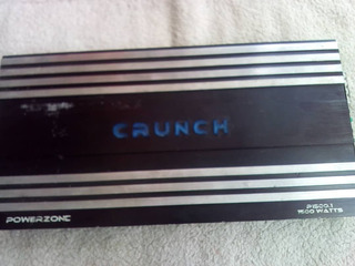 Planta Crunch 1500w 2 Canales 2 Salidas