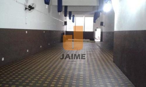 Casa Comercial Para Locação No Bairro Santa Cecília Em São Paulo - Cod: Ja7408 - Ja7408