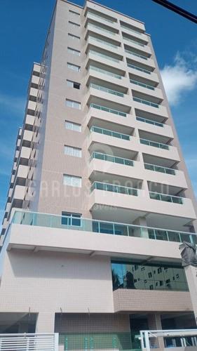 Imagem 1 de 15 de Apartamento Canto Do Forte 2 Dormitórios Com Varanda  - Cf70107