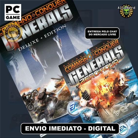 Command & Conquer Generals + Zero Hour - Deluxe Edition Pc