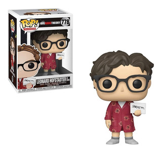 Figura Funko Pop The Big Bang Theory - Leonard 778