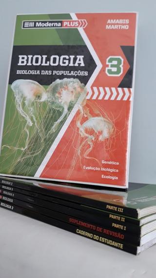 Livro - Biologia 3: Biologia Das Populações - Moderna Plus