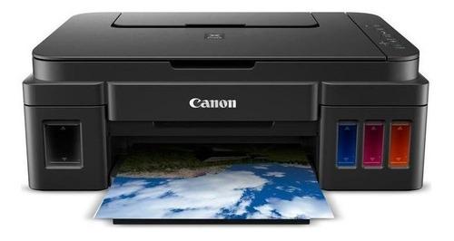 Imagen 1 de 2 de Impresora a color multifunción Canon Pixma G3100 con wifi negra 110V/220V