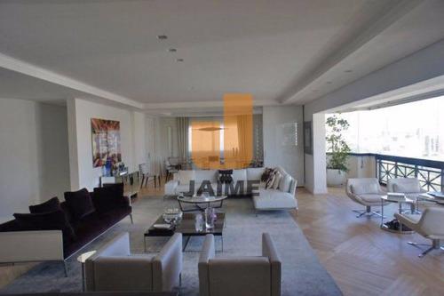 Apartamento Na Melhor Localização Do Jardins, 350m, 4 Suítes E 5 Vagas. Imperdível!  - Ja14832
