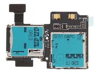 Placa Slot Sim Card Sd Flex Samsung Galaxy S4 I9505 E I9500