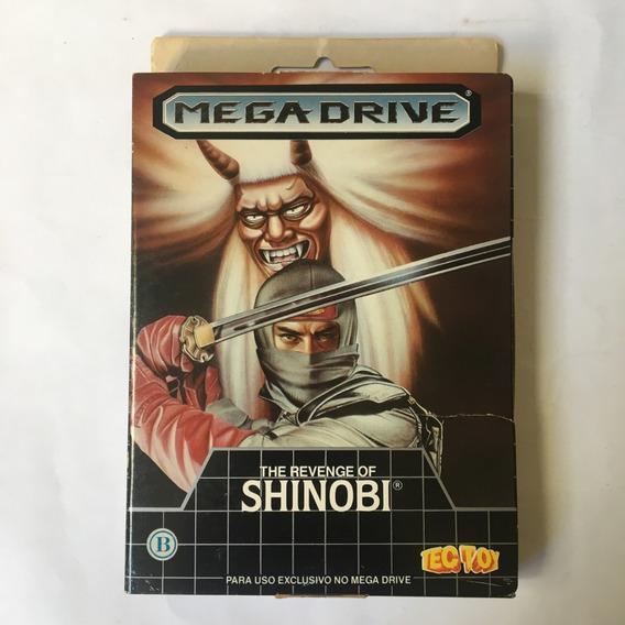The Revenge Of Shinobi Sega Original Completa Caixa Papelão