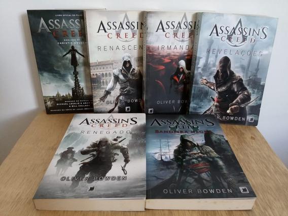 Coleção Com 06 Livros Assassins Creed Perfeito Estado