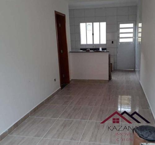 Sobrado Em Condomínio - 2 Dorms, 1 Suíte, 1 Vaga - Nova Mirim/pg - 3184