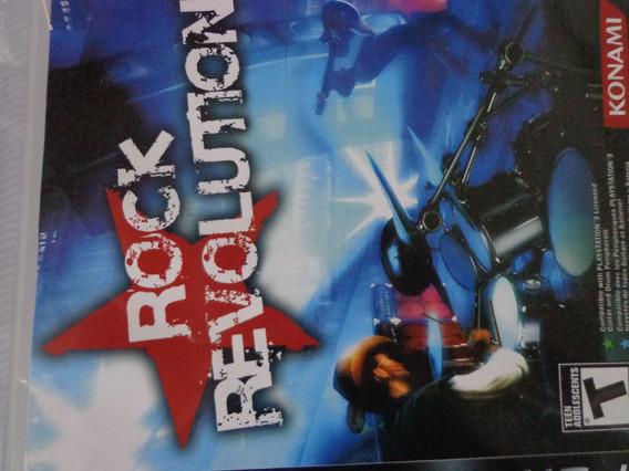 Rock Revolution Ps3 Mídia Física $28