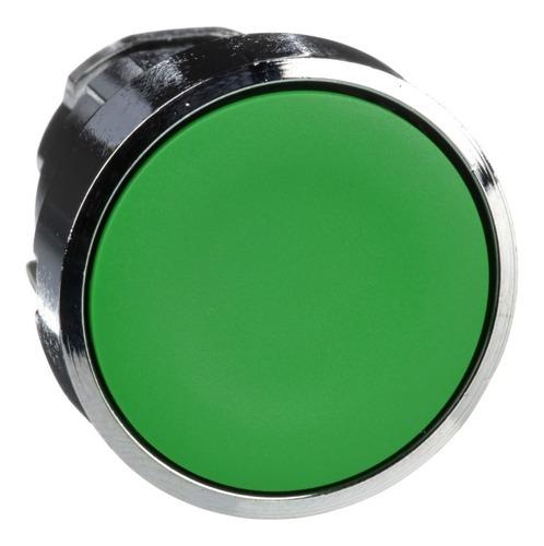 Cabeza Para Pulsador Verde No Iluminado