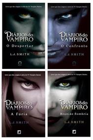 Kit 4 Livros - Coleção Diários Do Vampiro Frete Gratis