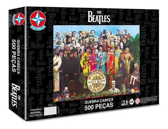 Quebra-cabeça The Beatles 500 Peças - Estrela Estrela