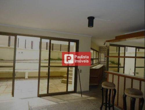 Cobertura, 280 M² - Venda Por R$ 3.000.000,00 Ou Aluguel Por R$ 9.700,00/mês - Moema Pássaros - São Paulo/sp - Co0872