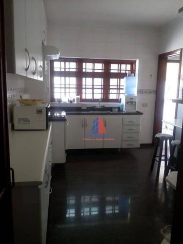 Sobrado Com 4 Dormitórios À Venda, 341 M² Por R$ 1.100.000,00 - Vila Santa Maria - Americana/sp - So0347