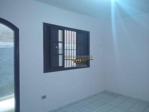 Casa Com 1 Dormitório Para Alugar, 50 M² Por R$ 1.000,00/mês - Aricanduva - São Paulo/sp - Ca0703