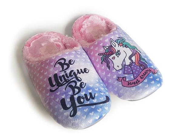 Pantuflas Mujer Acolchadas Chinelas Sweet Dreams Mady