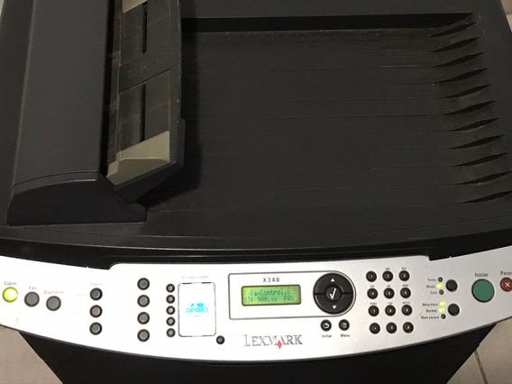 Impressora Multifuncional Laser Lexmark X 340 (defeito)