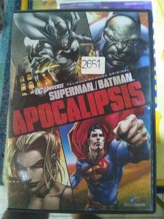 Pelicula Original En Dvd Batman Y Superman Apocalipsis