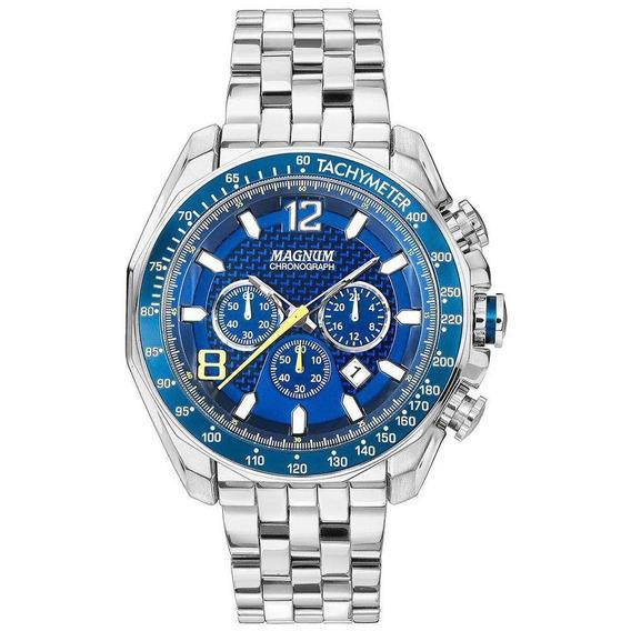 Relógio Masculino Magnum Cronógrafo Ma33586f - Loja Oficial