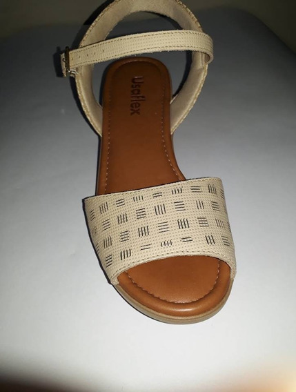 Sandália Usaflex Blush Aa1807