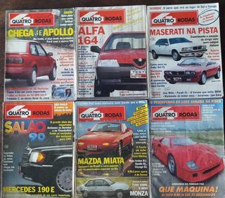 4 Rodas Década 90. Escolha 3 Revistas Por R$ 39,00!