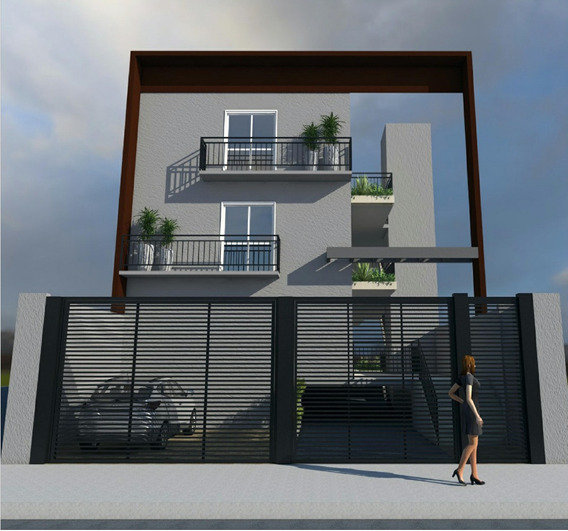 Apartamento 1 Dormitório E 1 Vaga Só 169mil