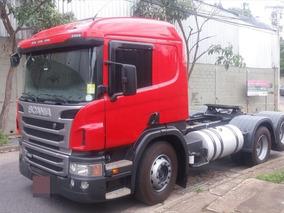 Scania P360 Vermelha 2014