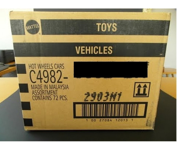 Hot Wheels Originales - C4982 - Lote X 72u - Caja Cerrada!