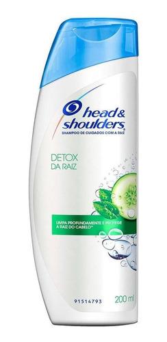 Shampoo Head & Shoulders Detox Da Raiz 200ml