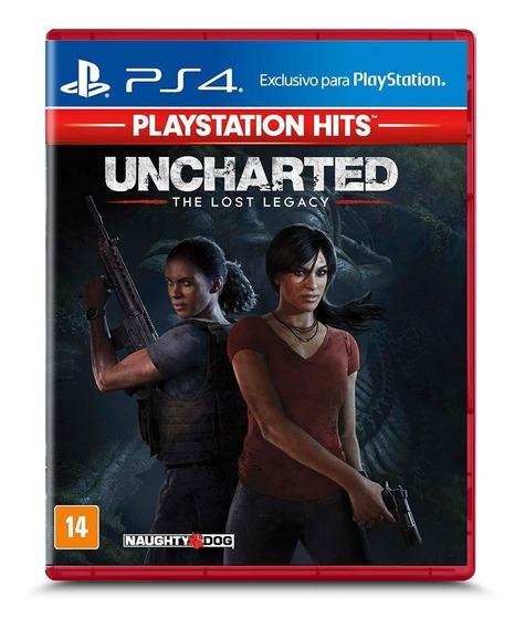 Uncharted Lost Legacy Ps4! Mídia Física! Novo-lacrado!