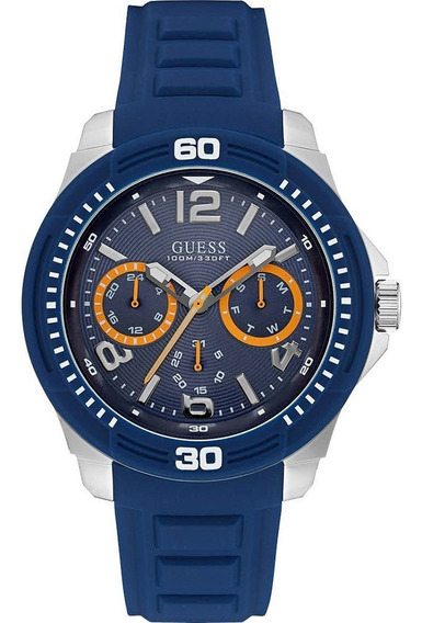 Relógio Guess Masculino Tread 92642g0gsnu2 - W0967g2
