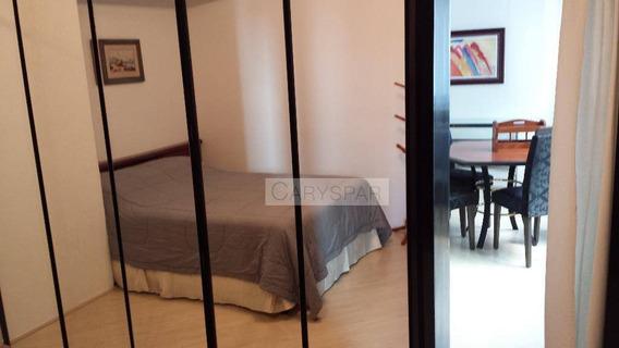 Flat Residencial Para Locação, Higienópolis, São Paulo. - Fl1801