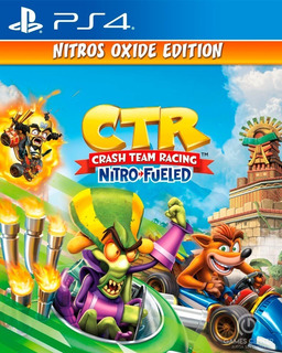 Crash Team Racing - Nitros Oxide Ps4 Español Digital Deluxe