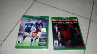 Par De Juegos Xbox One, Fifa 16 Y Mgsv