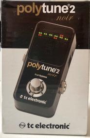 Pedal Afinador Polytune2 Noir Tc Electronic Polytune 2
