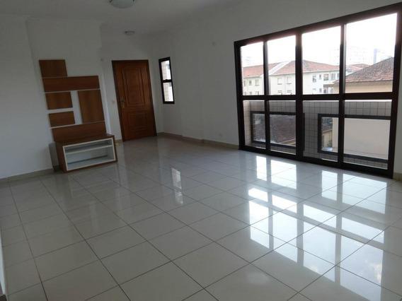 Oportunidade Apartamento Com 4 Dormitórios Locação R$ 4.500,00 (pacote) E À Venda, 145 M² Por R$ 865.000,00 - Pompéia - Santos/sp - Ap0032