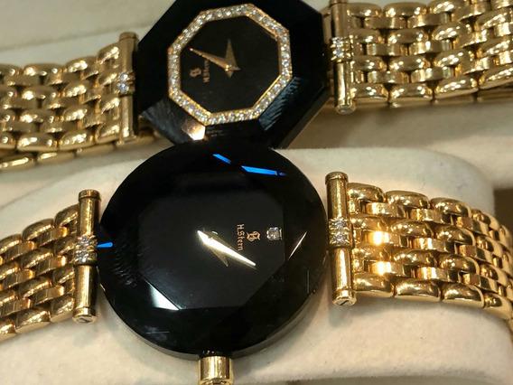 Relógios H.stern Safira De Ouro 18k 03 Modelos Lindos