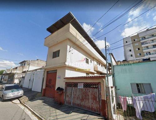 Imagem 1 de 2 de Casa Com 2 Dormitórios À Venda, 313 M² Por R$ 1.000.000,00 - Nova Gerti - São Caetano Do Sul/sp - Ca1005